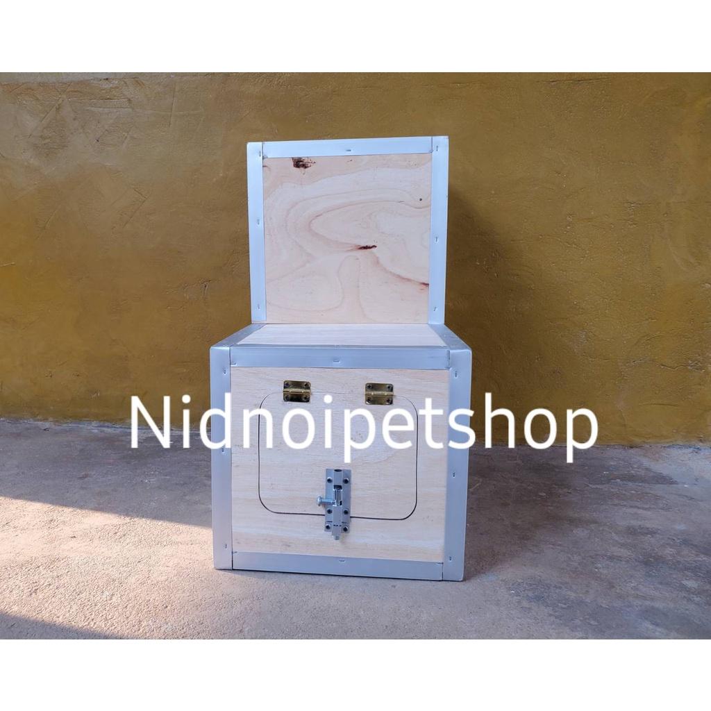 ☫™♚กล่องเพาะนก ( กล่องขนาดเล็ก ทรง L ) รังเพาะนก กล่องนอน บ้านนก หงส์หยก เลิฟเบิร์ด ค็อกคาเทล ฟอพัส ฟินซ์ ราคาโรงงานเลยจ