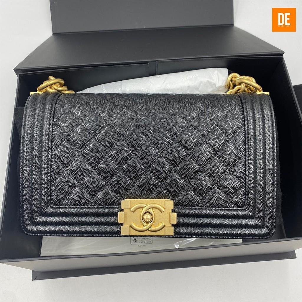 """กระเป๋า New Chanel boy 10"""" holo29 fullset+ori rec : GN1770A"""