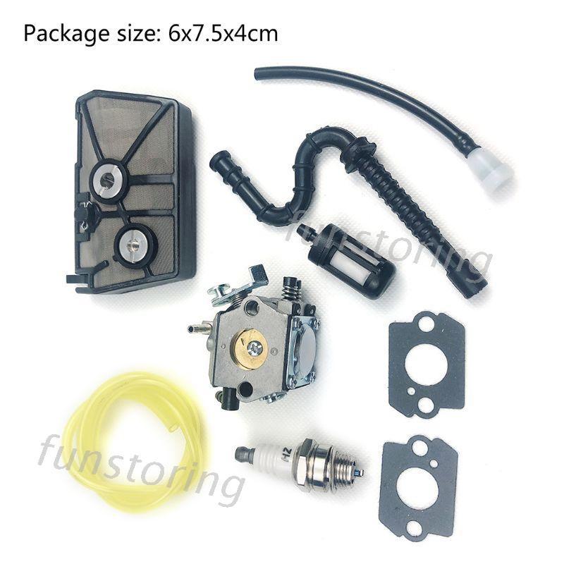 คาร์บูเรเตอร์สําหรับ Stihl 028 Av Tillotson Hu - 40 D Walbro Wt - 16 B Chainsaw Carb Kit