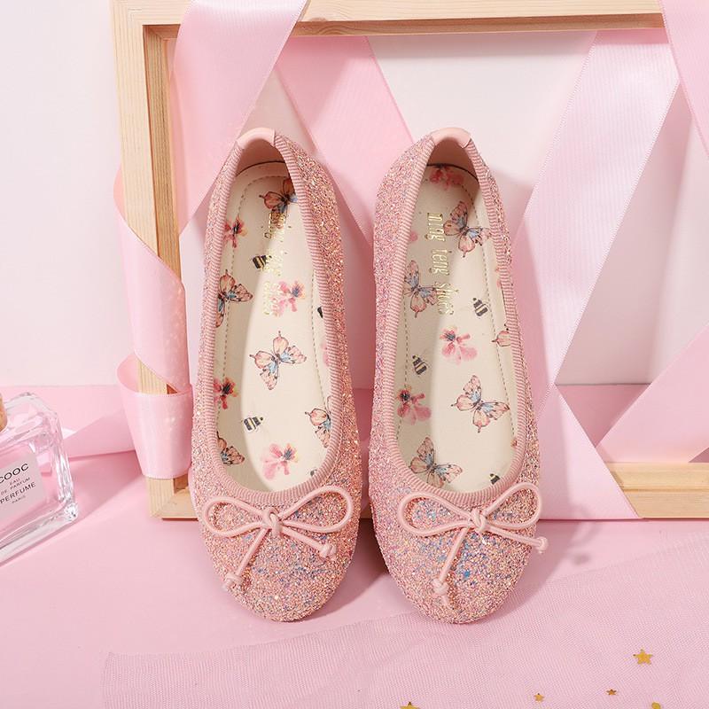 รองเท้าคัชชู สไตล์เกาหลี สำหรับเด็กผู้หญิง