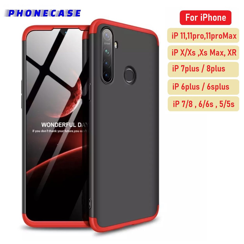 ❌ราคาส่ง❌ เคส GKK Case iPhone11 iphone11pro max 6/6s 6/6splus 7/8 7/8plus ของแท้ 100%  360