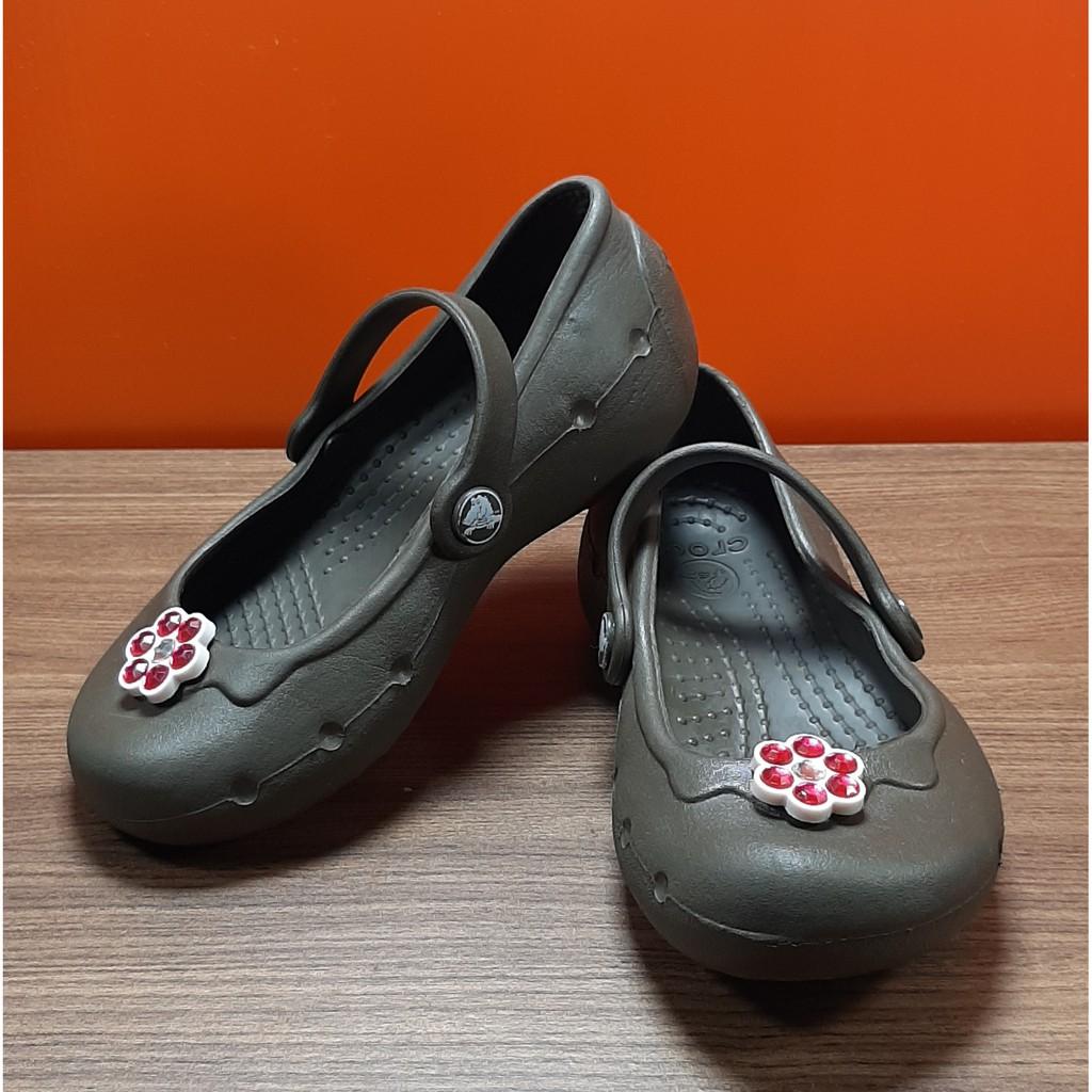 รองเท้าเด็ก มือสองของแท้ CROCS  8C9  15cm  (คะแนน 5/10)
