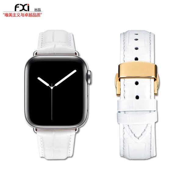 สาย applewatch fxi หนังสาย Apple Universal iwatch5436 สาย Apple Watch สาย iwatch สายหนังสาย Applewatch อินเทรนด์ผู้ชายแล