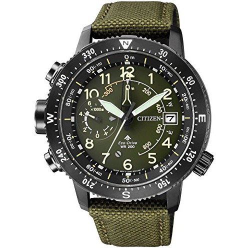 CITIZEN PROMASTER Promaster Eco-Drive Arti Klong land Series advanced measurement function BN4046-10X