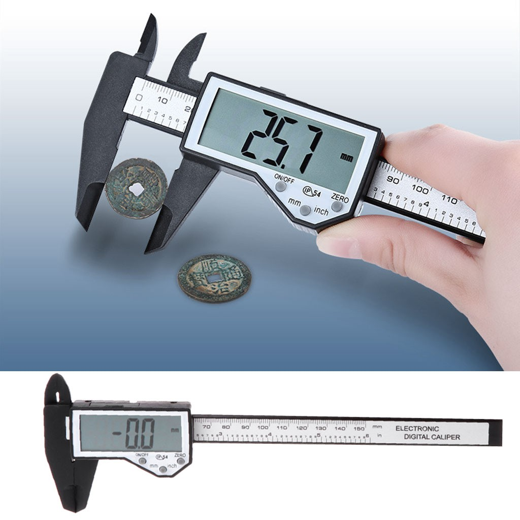 High-precision Gauge Metal Vernier Caliper 120mm Micrometer Paquimetro Measuring