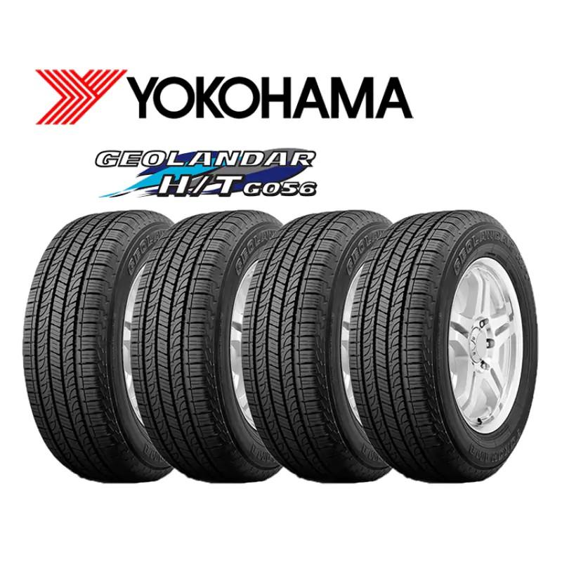 ยางรถยนต์ Yokohama รุ่น Geolandar H/T G056 ขนาด 265/65R17 112H จำนวน 4 เส้น ยางรถกระบะ และ ยางรถเอนกประสงค์ SUV