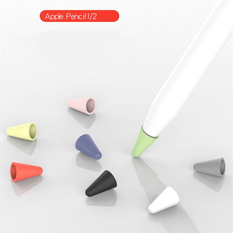 พร้อมส่งจากไทย!【8 ชิ้น】 เคสหัวปากกา Apple pencil case ใช้ได้ทั้ง gen1 และ 2 ป้องกันการสึกหรอ เพิ่มแรงเสียดทาน กันกระแทก