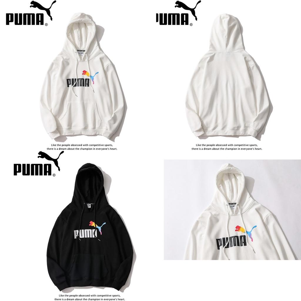 Puma เสื้อกันหนาวมีหมวกแขนยาว