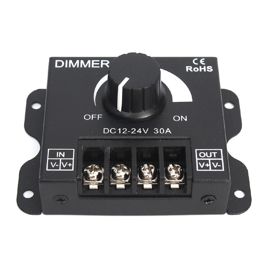 TC 420 Time Programmable RGB LED Controller DC 12v-24V LED Timing Dimmer | Shopee Thailand