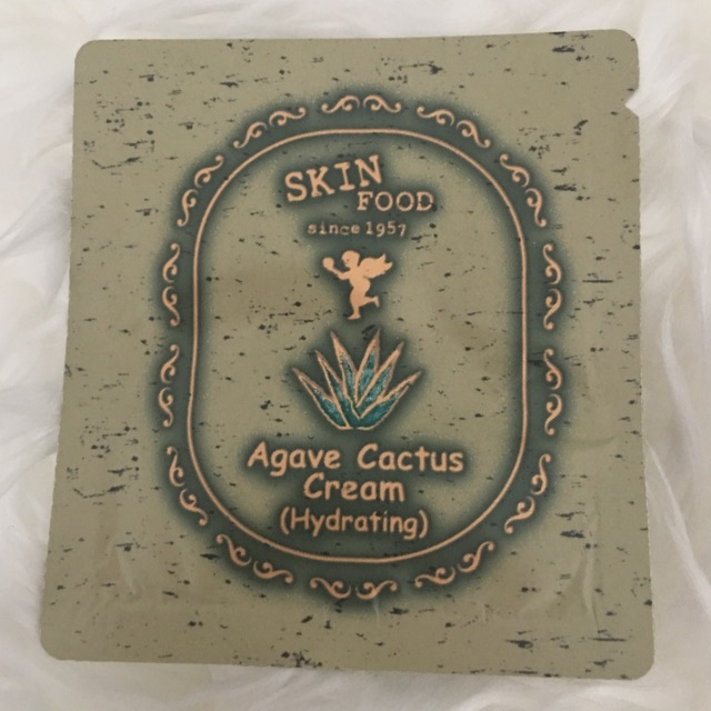 Tester Skinfood Agave Cactus Cream (Hydrating)