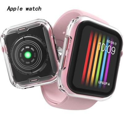🔥ของเข้าแล้วครับ🔥เคสกันรอยคลุมหน้าจอและรอบเครื่อง Apple watch Series 6 SE 5 4 3 2 1 40มม. 44มม. 42มม. 38มม. เคส Apple Watch case