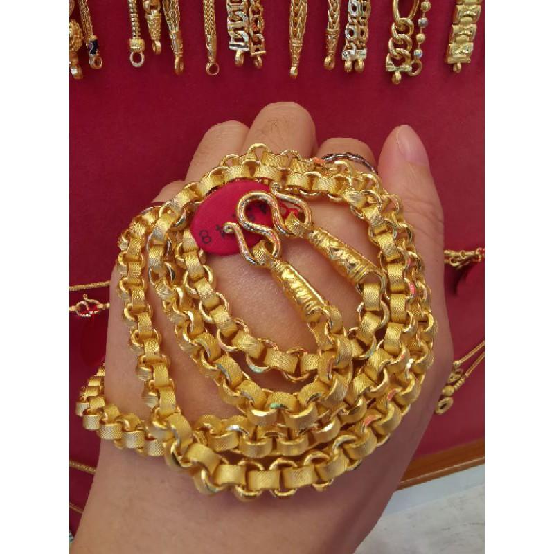 สร้อยคอทองแท้ 96.5%  น้ำหนัก 3 บาท ยาว 34cm ราคา 86,000บาท