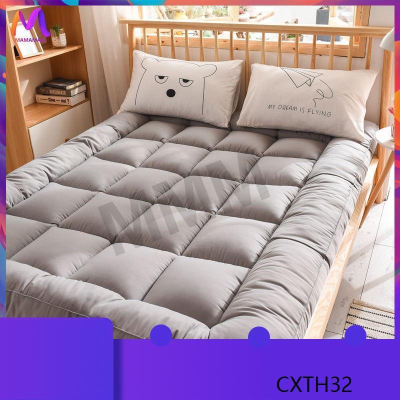 ♥ MMM ท็อปเปอร์ Topper 6 ฟุต ที่นอน เบาะรองที่นอนขนห่านเทียม นอนสบายหนานุ่มๆ รุ่นหนาพิเศษ 4 นิ้ว เกรดพรีเมีย( 3F 5F 6F)