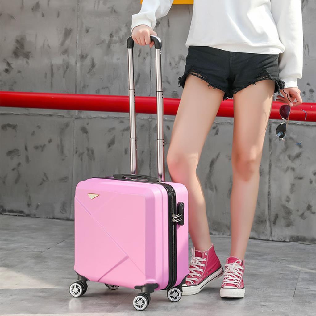 กระเป๋าเดินทางแบบใส่รหัสผ่านขนาด 18 นิ้ว