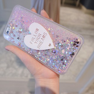 Review Samsung Galaxy Note 10 Plus Note 9 8 S9 S8 Plus S6 S7 Edge S10 Plus Glittering Heart Soft Case
