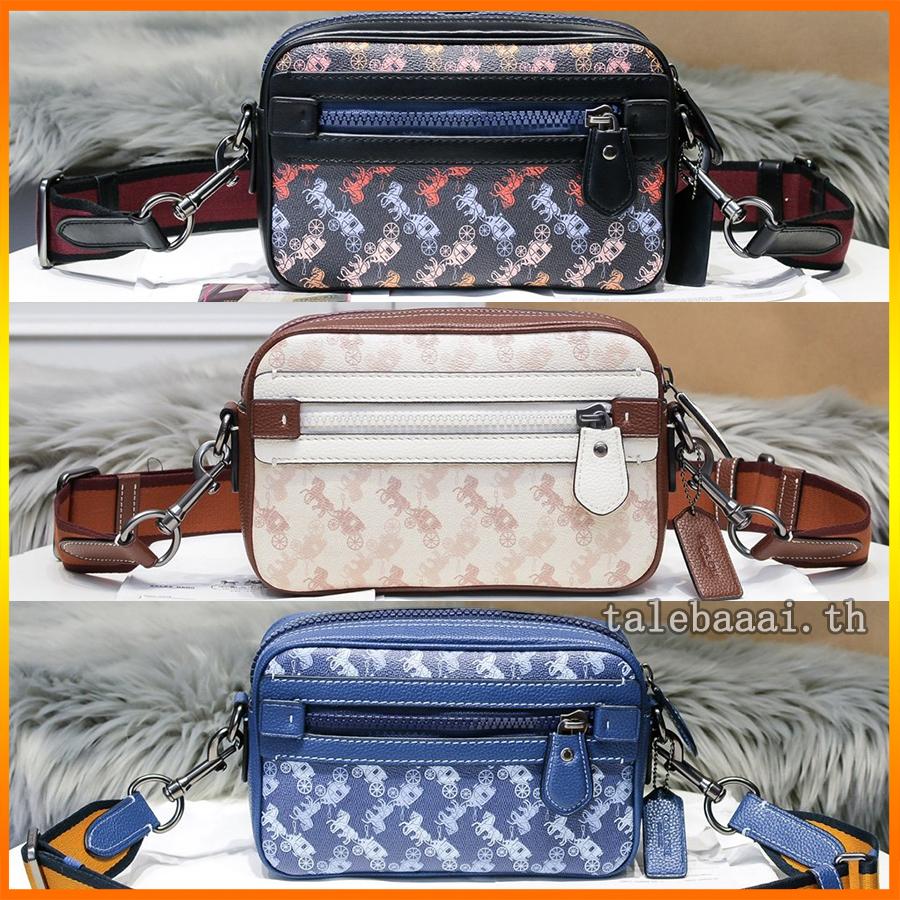 กระเป๋าผู้ชาย Coach แท้ F89084 shoulder bag / กระเป๋าสะพาย / กระเป๋าสะพายข้างผู้ชาย / crossbody bag / กระเป๋ากล้อง
