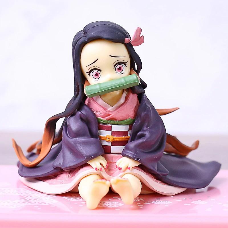 ดาบพิฆาตอสูร GEM Demon Slayer Kimetsu no Yaiba Kamado Nezuko PVC Figure Collectible Model Toy