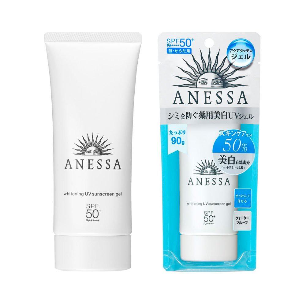ฉลากKing Power! Anessa Whitening UV Sunscreen Gel 90g เจลครีมกันแดดสูตรไวท์เทนนิ่ง จากแอนเนสซ่า