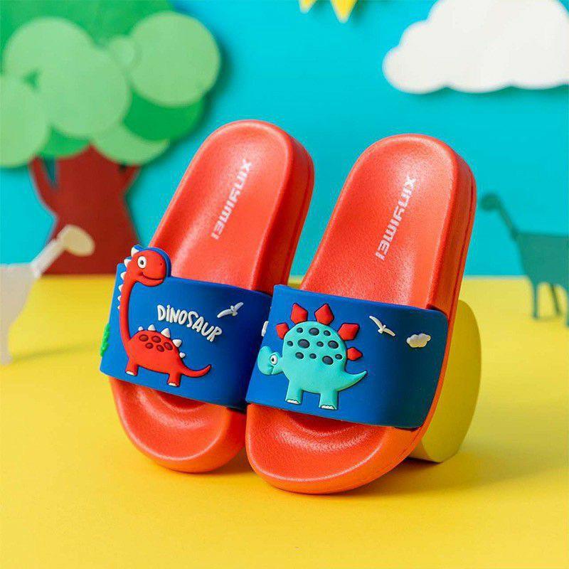 รองเท้าคัชชูผู้หญิง รองเท้าส้นปกติ รองเท้าแตะเด็ก รองเท้าแตะเด็กผู้ชาย รองเท้าแตะเด็กผู้หญิง ลายไดโนเสาร์ สกรีนนูน