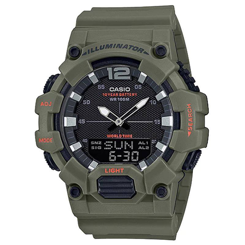 Casio  Hdc-700-3a2 Hdc 700 3a2 Hdc700 นาฬิกาข้อมือสําหรับผู้ชาย
