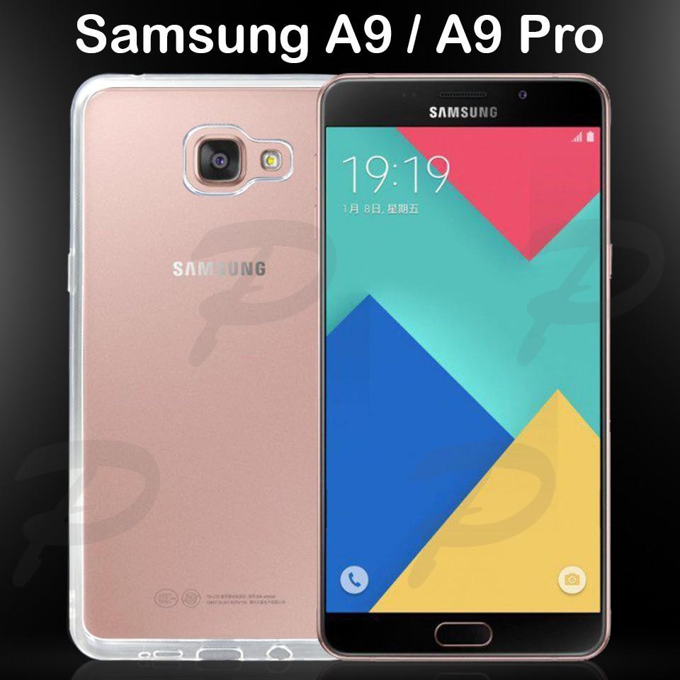 """เคสใส เคสสีดำ ซัมซุง เอ9 โปร (2016) หลังนิ่ม Tpu Soft Case For Samsung Galaxy A9 Pro (2016) (6.0"""")"""