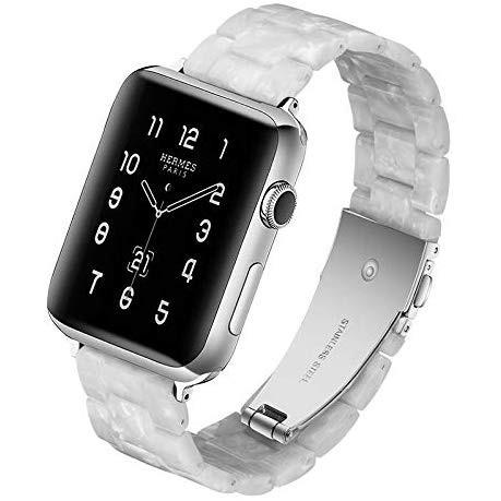 สายนาฬิกาข้อมือสแตนเลสสําหรับ Apple Watch Band Series 5 / 4 / 3 / 2 / 1