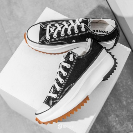 CONVERSE RUN STAR HIKE LOW low tube black zigzag shoes 168816C 168817C high shoes in stock