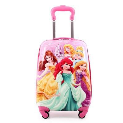 ㇹ¢กระเป๋าเดินทางเด็ก  กระเป๋ารถเข็นเดินทางกระเป๋าเดินทางเด็กนักเรียนเด็กกระเป๋าเดินทางเด็กรถเข็นการ์ตูนเด็กผู้หญิงอายุ 1