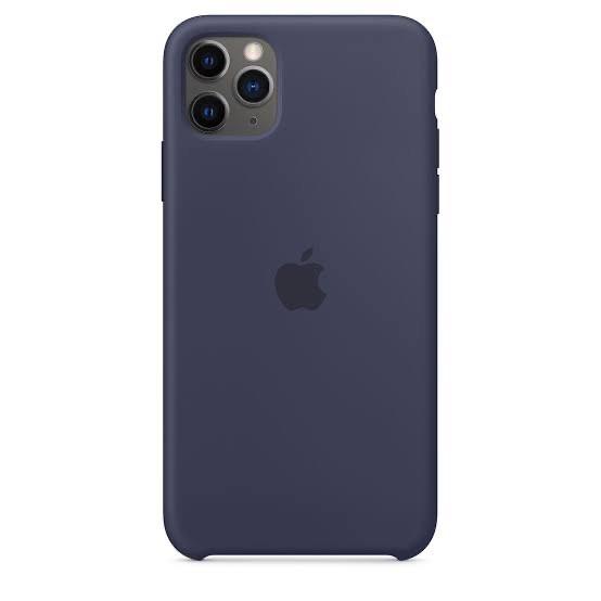 Silicone Case Apple สำหรับ iPhone 11 Pro Max สี Midnight Blue ของแท้ ของใหม่