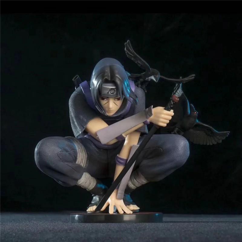 ▲❁Uchiha Itachi Action Figure Squat Ver. PVC 18CM  Naruto Shippuden