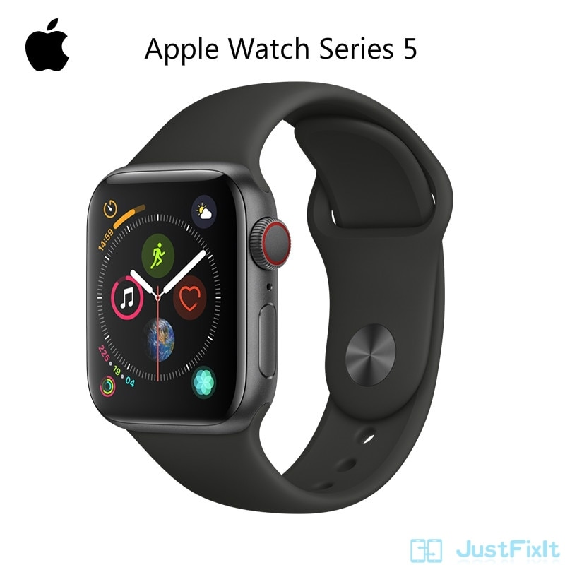 Original 95% New Apple Watch Series 5 S5 LTE Aluminum SportBand