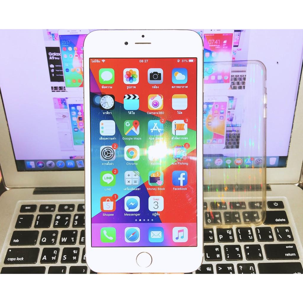 Apple iphone6s plus 64G สีSilver เครื่องTH พร้อมใช้งาน