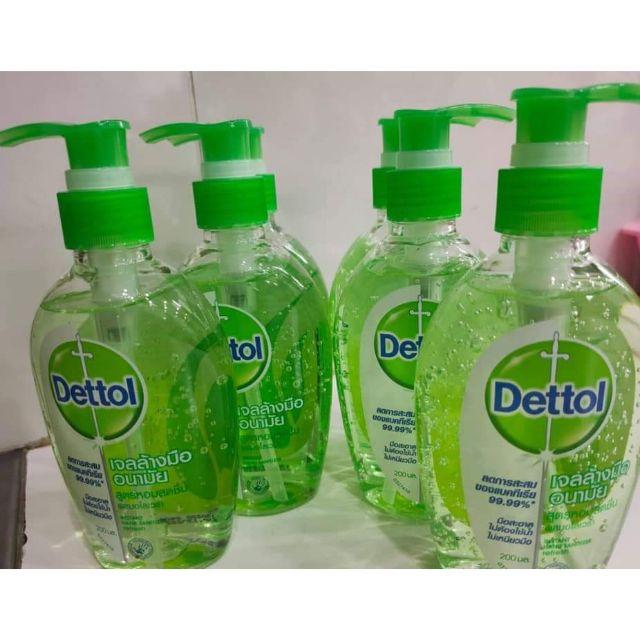 Dettol เจลล้างมือฆ่าเชื้อโรค