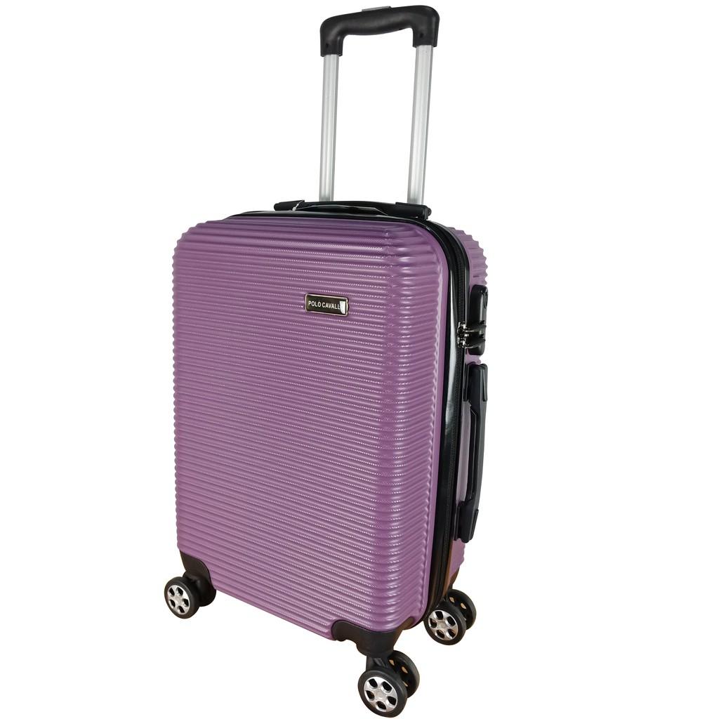 Polo Cavallo Abs กระเป๋าเดินทางขนาด 6195 24 นิ้ว (รับประกัน)