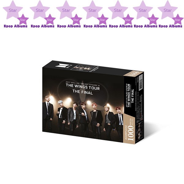 BTS - [JIGSAW PUZZLE 1000Pcs] World Tour Poster 1 : The Wings Tour ( KPOP )