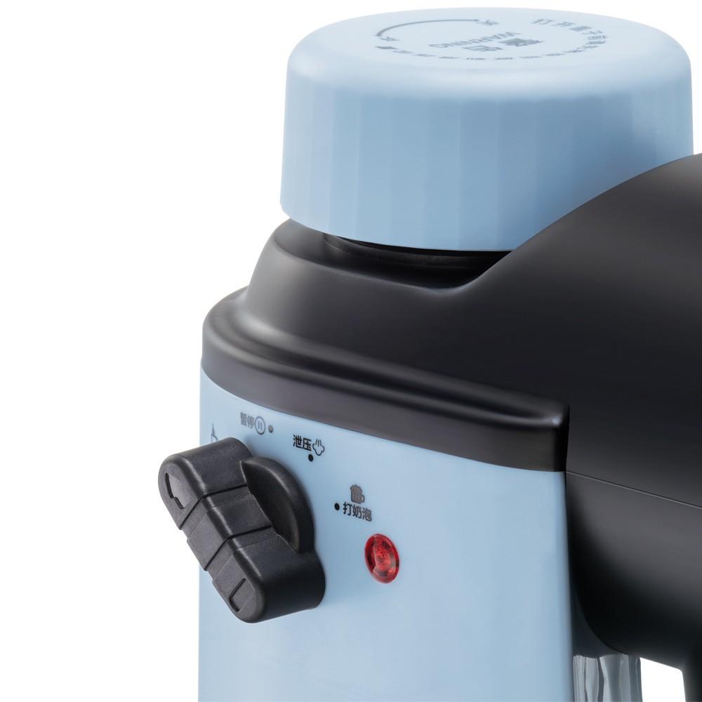 ◙❐Bear เครื่องชงกาแฟสามารถทำฟองนมสกัดแรงดันสูงโฮมออฟฟิศเครื่องชงกาแฟ kfj-a02n1