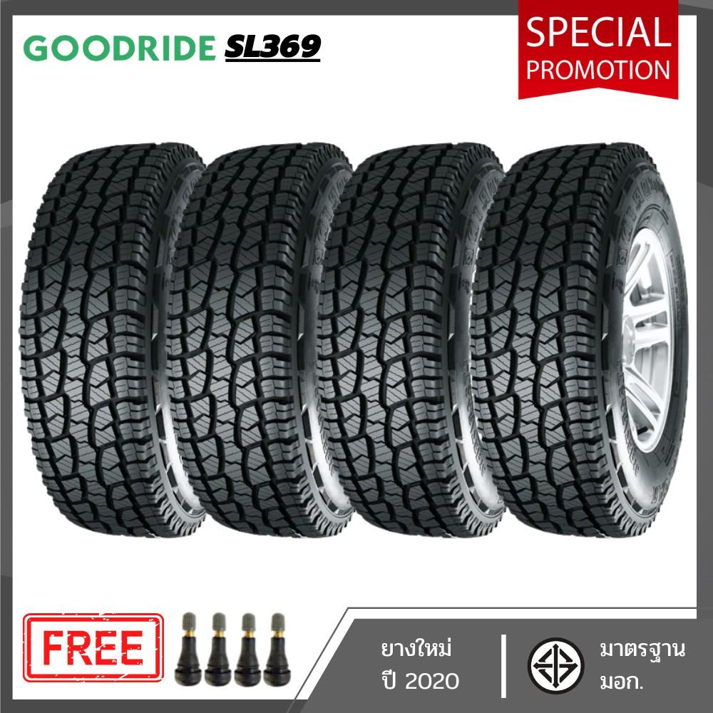 ยางรถยนต์ ยางใหม่ GOODRIDE SL369 265/50R20 ปี2020 (4 เส้น)