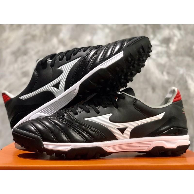 รองเท้าร้อยปุ่มหนังแท้100%  Mizuno Morelia II Pro AS พร้อมส่ง เท้าอวบเท้าบาน+1size ค่ะ