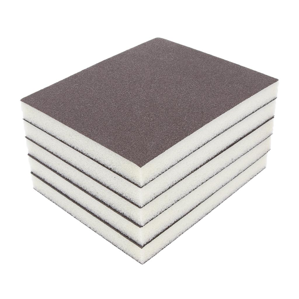 25 Pieces of Coarse Grit Sanding Sponges.