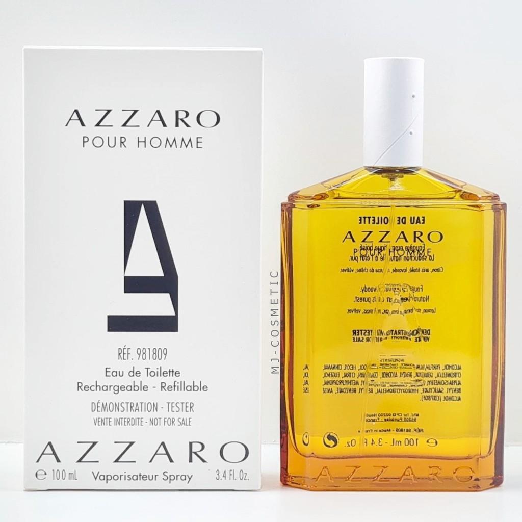 ส่งฟรี Azzaro Pour Homme EDT 100ml กล่องเทส น้ำหอม