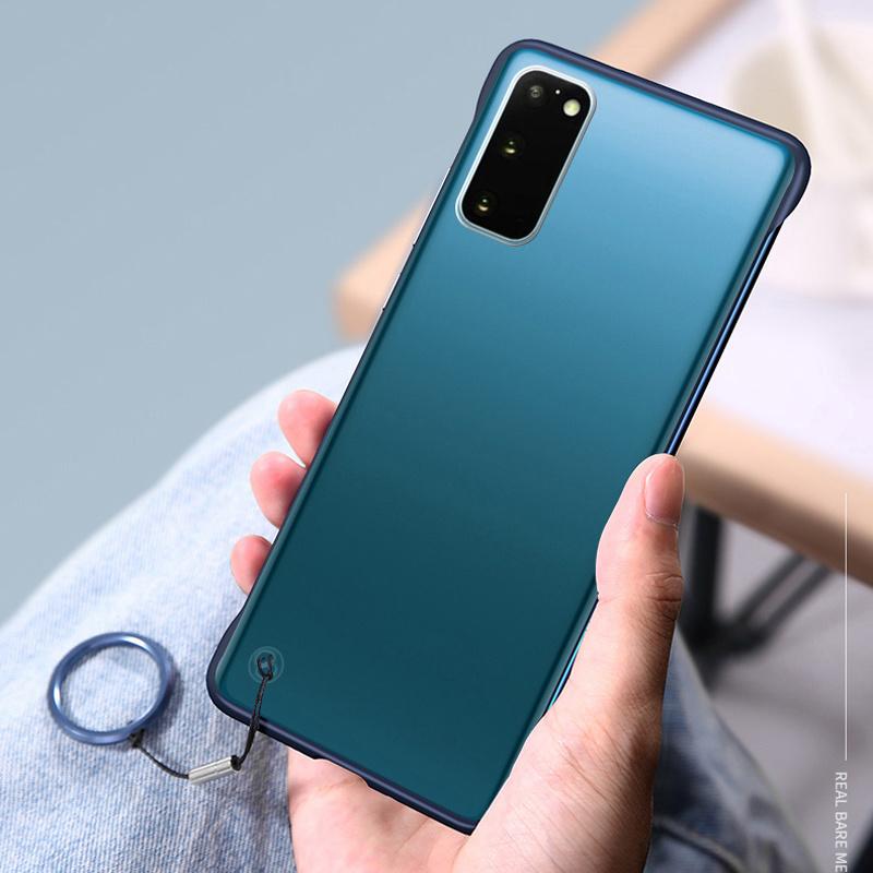 เคส Infinix Hot 9 Play กรณีปกโทรศัพท์พลาสติกแข็งออกแบบไร้ขอบ Infinix Note 7 Hot 8 9 Lite