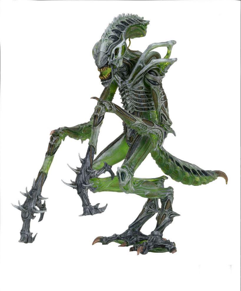 Collectible Anime Figure 18cm PVC Figure Movie NECA Aliens Mantis Alien Figure Doll Green 7'' Model for Boy Fans Gift Br