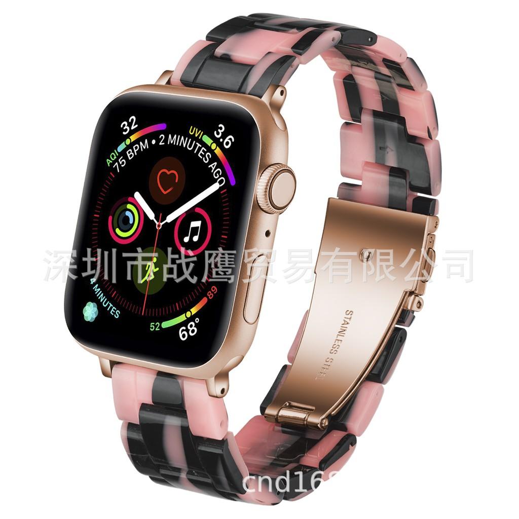 สายนาฬิกาข้อมือแบบเรซิ่นสําหรับ Applewatch