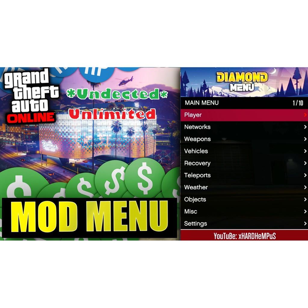 GTA 5 / GTA V Online Hack Mod Menu unlimited Money [Free Money + RP] Cayo Perico Update