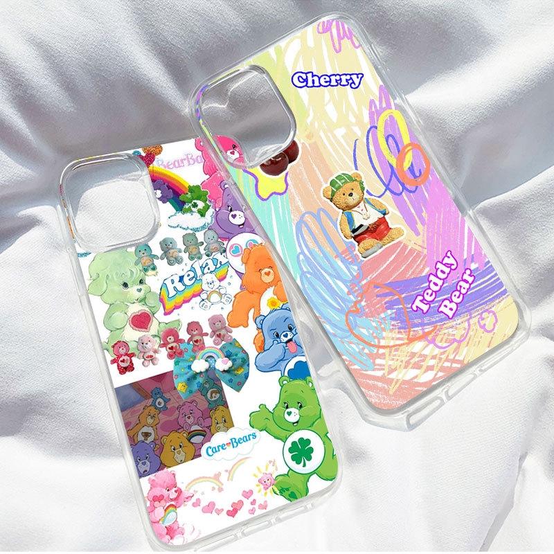 เคสโทรศัพท์ พิมพ์ลายหมี กราฟฟิค สําหรับ apple iphone 11/11pro 11pro max x xr xs max 6 7 8 plusCasing iphone for iphone 12 pro max 12 MINI iphone 11 pro max iphone XS MAX XR X iphone 7 Plus 8 Plus iphone 5 5s 6 6s 7 8 SE2020 SE 2020