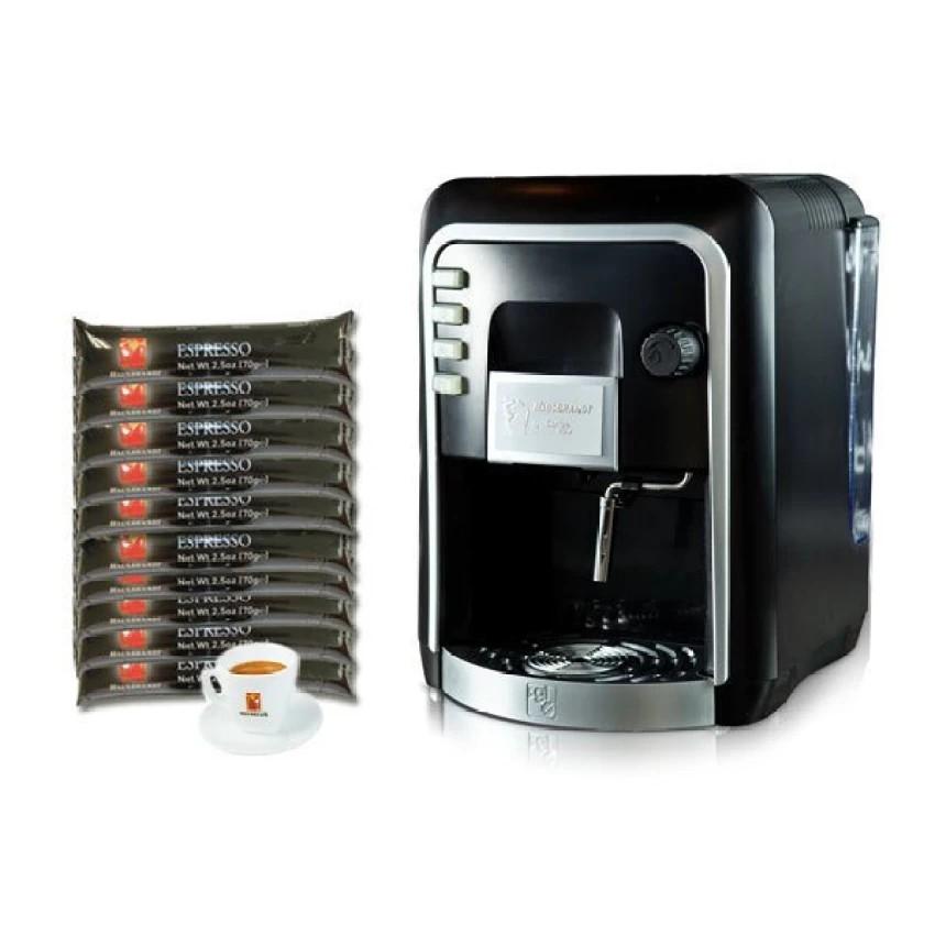 กาแฟแคปซูล : Coffee Italy เครื่องทำกาแฟ รุ่น HAUSBRANDT CAPSY + แคปซูลกาแฟ 10 แพ็ค (รส Espresso) + แก้วกาแฟ 1 ชุด