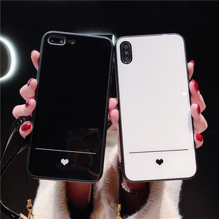 Review Huawei Y7 PRO 2018 Y9 2019 NOVA 2i 3 2s 3e 3i 4 4e mate 20 pro lite honor 8X 7X casing cute small love glass back case