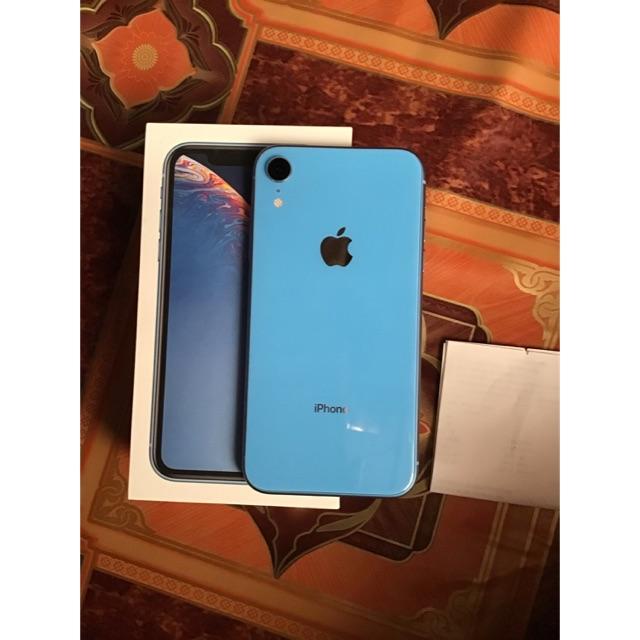 iPhone XR สีฟ้า 64gb มือสอง