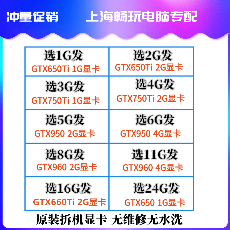 Gtx950 Gtx960 Gtx650 Gtx650Ti Gtx750Ti Gtx660Ti กราฟิกการ์ดเกม