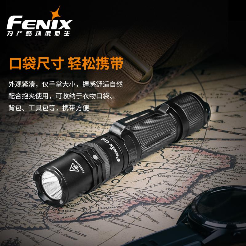 ไฟฉาย Fenix C6V2.0การชาร์จUSBไฟฉาย18650แบตเตอรี่กันน้ำsuper brightระยะยาวยุทธวิธีไฟฉาย gLuF